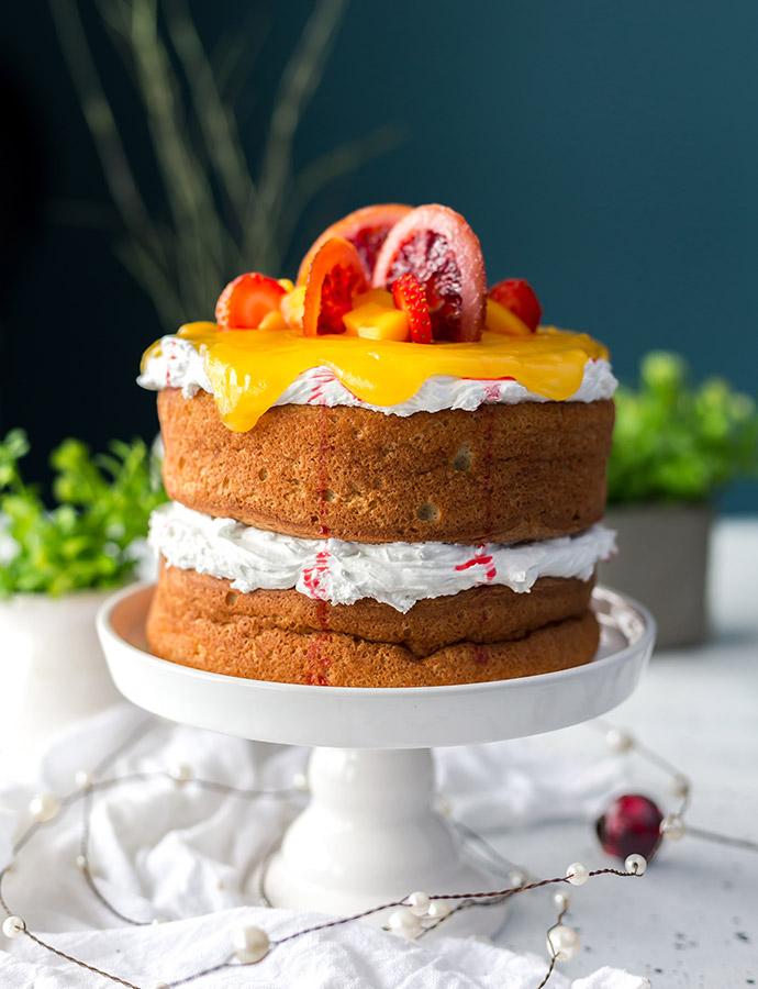Babeczki lub ciasto cytrynowe na diecie eliminacyjnej