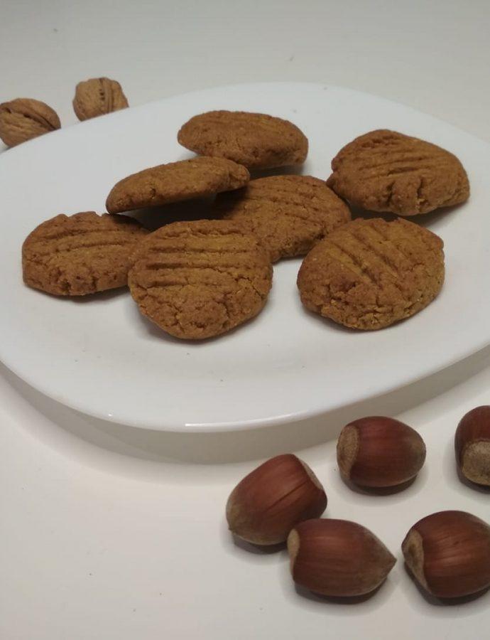 Pyszne orzechowe ciasteczka- tylko 3 składniki!