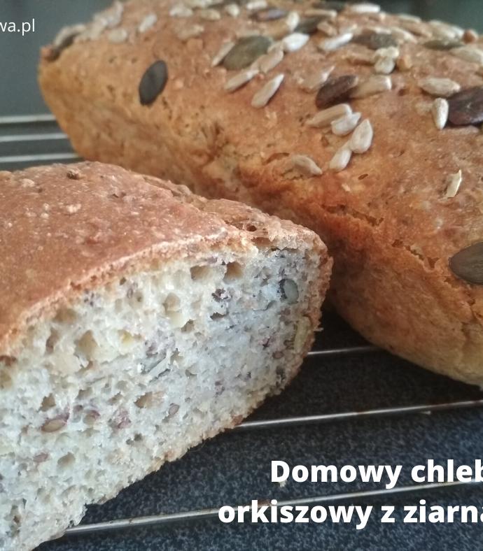 EKSPRESOWE WYPIEKI- Najlepszy domowy chleb z ziarnami