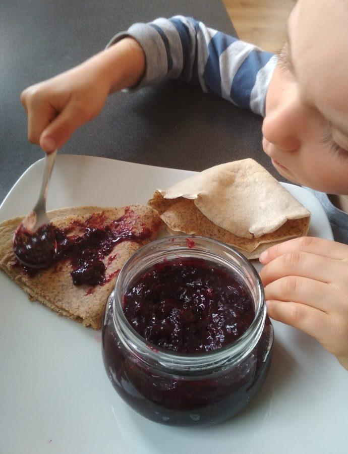 Dżem owocowy, idealny dla dzieci- bez cukru, 2 składniki