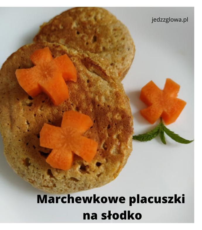 Marchewkowe placuszki idealne na śniadanie i podwieczorek